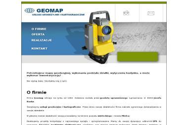 Geomap - Usługi Geodezyjne i Kartograficzne - Geodeta Czermin