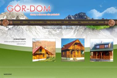 GÓR-DOM - Domy z bali Sidzina
