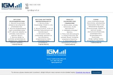 IGM - Doradztwo Finansowe - Biznes Plan Firmy Budowlanej Tarnów