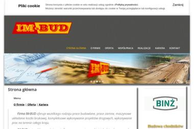 IM-BUD - Konstrukcje Żelbetowe Szczerców