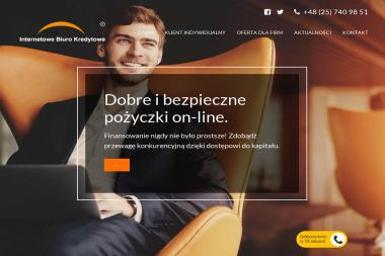 Internetowe Biuro Kredytowe - Kredyt dla firm Siedlce