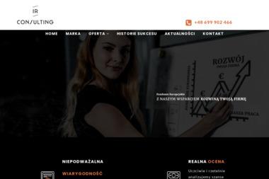 IR Consulting s.c. - Plan Biznesowy Bielsko-Biała