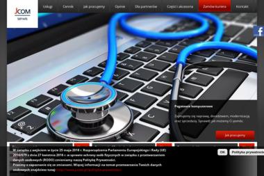 J-COM Serwis - Serwis komputerów, telefonów, internetu Poznań