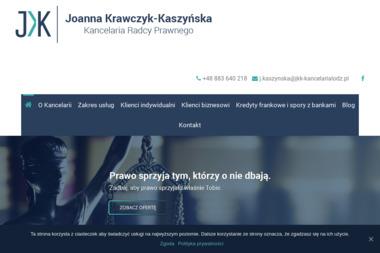 Kancelaria Radcy Prawnego Joanna Krawczyk-Kaszyńska - Prawnik Łódź