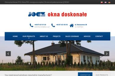 Przedsiębiorstwo JOCZ - Okna drewniane Ryn