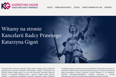 Kancelaria Radcy Prawnego Katarzyna Gigoń - Usługi Prawne Sucha Beskidzka