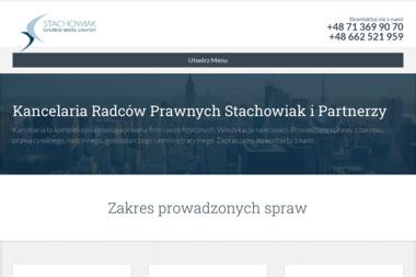 Kancelaria Radców Prawnych Stachowiak i Partnerzy sp.p. - Sprawy procesowe Wrocław