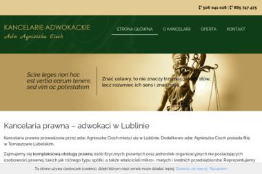 Agnieszka Cioch Kancelaria Adwokacka - Kancelaria Adwokacka Lublin