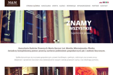 M. Koczur-Lot M. Mierzejewska-Płonka Spółka Cywilna - Radca prawny Wadowice