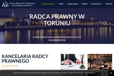 Kancelaria Radcy Prawnego Aleksandra Lubowicka - Radca Prawny Toruń