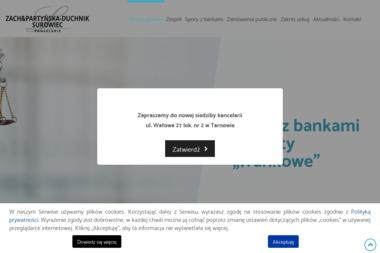 Kancelaria Zach&Partyńska-Duchnik - Adwokat Tarnów