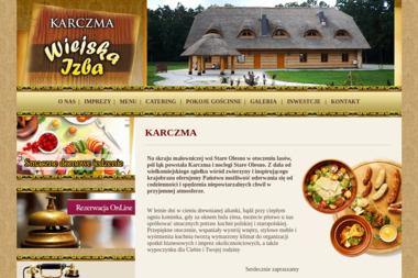 "Karczma Góralska ""Wiejska Izba"" - Usługi Gastronomiczne Stare Olesno"