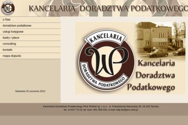 Kancelaria Doradztwa Podatkowego Piotr Wróbel sp. z o.o - Biznes Plan Sklepu Internetowego Tarnów