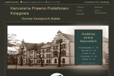 Kancelaria Prawno Podatkowo Księgowa Dorota Szwajnoch-Bałda - Kancelaria Adwokacka Zabrze