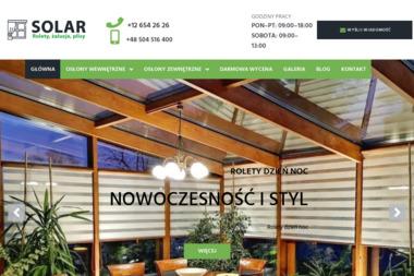 Solar Rolety - Żaluzje, moskitiery Kraków