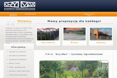 P. H. U. Kry-Max — Systemy Ogrodzeniowe - Ogrodzenia Żywiec