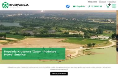 Krakowskie Zakłady Eksploatacji Kruszywa S.A. - Żwir Biały Kraków