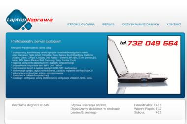 LAPTOP NAPRAWA - Naprawa komputerów Lewin Brzeski