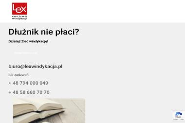 CENTRUM WINDYKACJI LEX - Skup Długów Gdańsk