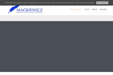 Maćkiewicz Kancelaria Radcowska - Usługi Prawne Piotrków Trybunalski