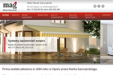 MAG Marek Ganczarski - Bramy Garażowe Dwuskrzydłowe Opole