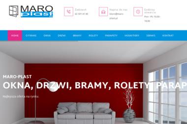 MARO-PLAST - Producent Okien Aluminiowych Sulmierzyce
