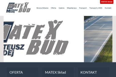 MATEX-BUD Mateusz Madej - Żelbeton Piotrków Trybunalski