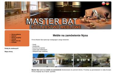 MASTER-BAT - Meble na wymiar Nysa