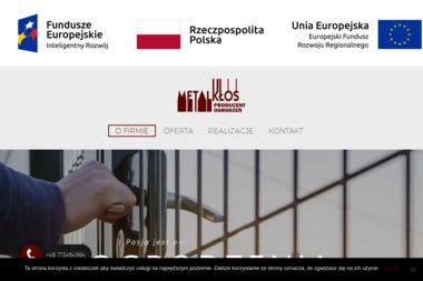 Metal-Kłos Producent Ogrodzeń - Siatka ogrodzeniowa Radwanice
