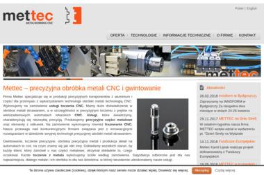 METTEC - Obróbka metali Tczew
