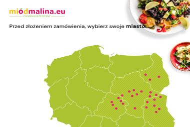 Miód Malina – catering dietetyczny - Gastronomia Łuków