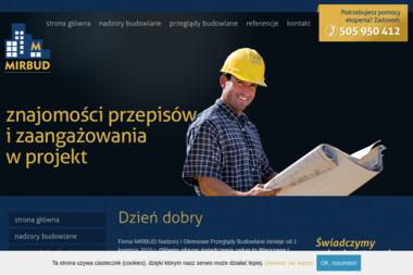 MIRBUD Nadzory i Okresowe Przeglądy Budowlane - Kierownik budowy Ciechanów