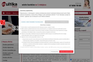 MULTIKA - Kredyt konsolidacyjny Rzeszów