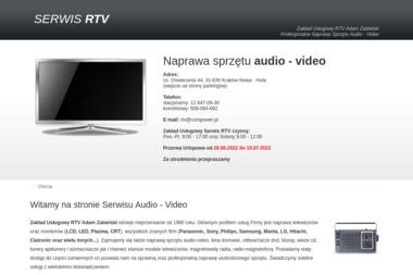 Zakład Usługowy RTV Adam Zabielski - Naprawa RTV Kraków