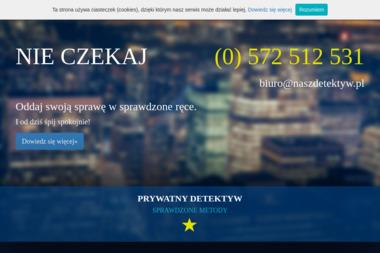 Biuro Detektywistyczne NASZ DETEKTYW - Firma Detektywistyczna Rzeszów