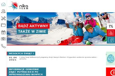 Nika Team - Nauka pływania Kraków