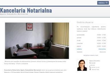 Zawadzka-Bernasiak Agata. Kancelaria Notarialna - Kancelaria prawna Łódź