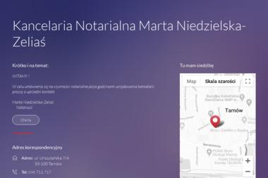 Kancelaria Notarialna Marta Niedzielska-Zeliaś - Notariusz Tarnów