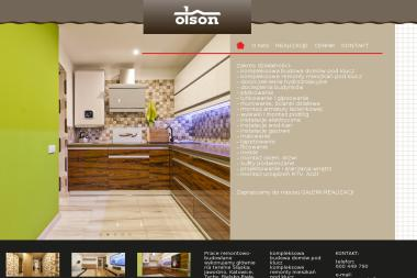 OLSON – firma remontowo-budowlana - Tapetowanie Będzin