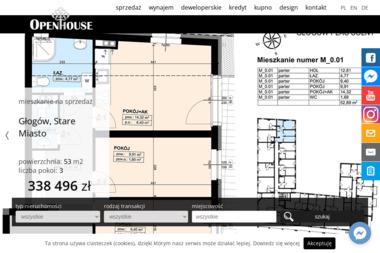 OPEN HOUSE - Budowa Domów G艂ogów