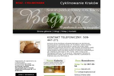 FHU BOGMAZ - Cyklinowanie Parkietu Kraków