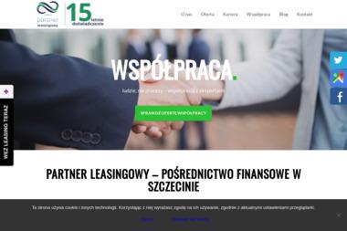 Partner Leasingowy - Biznes plany, usługi finansowe Szczecin