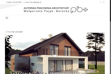 Autorska Pracownia Architektoniczna BP+ - Projekty Domów Jednorodzinnych Bielsko-Biała