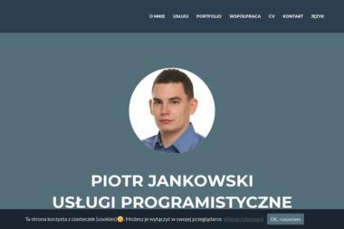 Piotr Jankowski Usługi Programistyczne - Firma Informatyczna Białystok