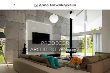 ANNA NOWAKOWSKA-MANORYK Architekt wnętrz - Architekt wnętrz Zielona Góra