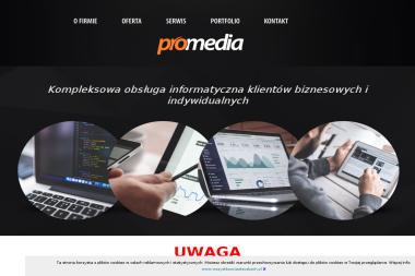 PROMEDIA - Strony internetowe Chocznia