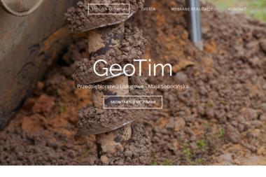 Przedsiębiorstwo Usługowe GeoTim - Geolog Gdańsk