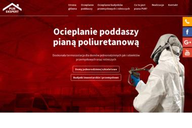Purekspert W. Chmielewski K. Potocki Spółka Jawna - Ocieplanie Pianką PUR Kaczki
