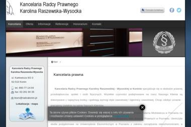Kancelaria Radcy Prawnego Karolina Raszewska-Wysocka - Prawnik Konin