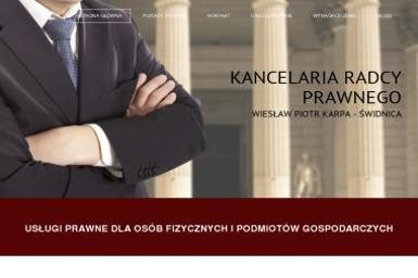 Kancelaria Radcy Prawnego Wiesław Piotr Karpa - Pomoc Prawna Świdnica